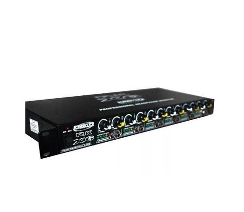 Amplificador De Fone De Ouvido Power Click Rk X6 3