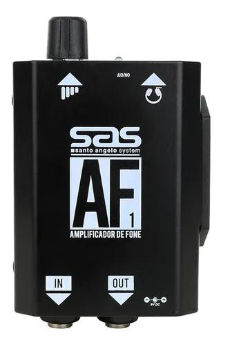 Amplificador De Fone Santo Angelo Af 1 preto